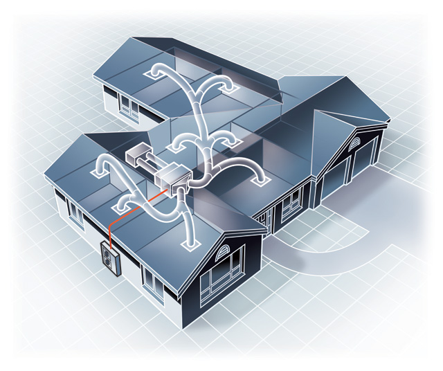 Auckland Heat Pumps Ducted Heat Pumps